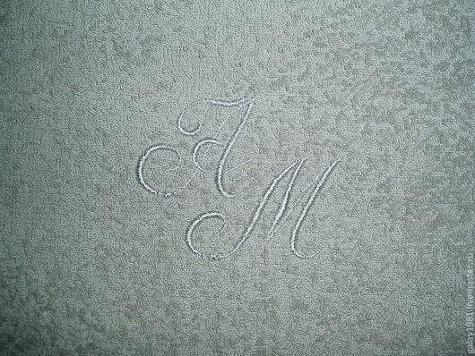 Текстиль, ковры ручной работы. Ярмарка Мастеров - ручная работа. Купить Именное полотенце.. Handmade. Машинная вышивка