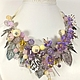 Order Fairy Lilac Garden. necklace with removable floral decoration. ms. Decorator. Livemaster. . Necklace Фото №3