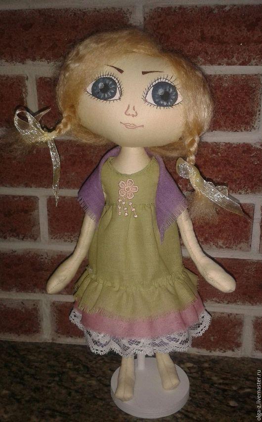 Коллекционные куклы ручной работы. Ярмарка Мастеров - ручная работа. Купить Тося.. Handmade. Комбинированный, кукла интерьерная, кукла текстильная