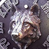 Дизайн и реклама ручной работы. Ярмарка Мастеров - ручная работа Волк. Handmade.