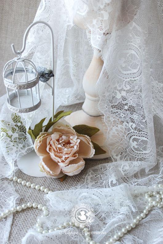 """Крестильные принадлежности ручной работы. Ярмарка Мастеров - ручная работа. Купить Палантин """"Невеста"""". Handmade. Белый, крестильное, подарок крестной"""