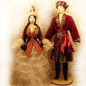Куклы и игрушки ручной работы. Ярмарка Мастеров - ручная работа Фарфоровые куклы - Казахи.. Handmade.