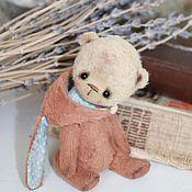Куклы и игрушки ручной работы. Ярмарка Мастеров - ручная работа мишка Степа. Handmade.