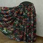 Одежда ручной работы. Ярмарка Мастеров - ручная работа Женская многоярусная юбка Теплое лето. Handmade.