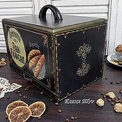 """Для дома и интерьера ручной работы. Ярмарка Мастеров - ручная работа """"Baguette"""" хлебница. Handmade."""