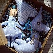 Куклы и игрушки ручной работы. Ярмарка Мастеров - ручная работа Набор игрушек Тильда для комнаты. Handmade.