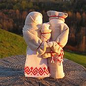 Куклы и игрушки ручной работы. Ярмарка Мастеров - ручная работа Неразлучники - семейный оберег. Handmade.