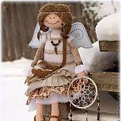 Куклы и игрушки ручной работы. Ярмарка Мастеров - ручная работа Зимняя девочка.Фея Хранительница снов.Коллекционная текстильная кукла.. Handmade.
