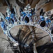 """Украшения ручной работы. Ярмарка Мастеров - ручная работа Корона """"Ледяная фея"""". Handmade."""