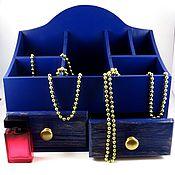 Для дома и интерьера handmade. Livemaster - original item Blue table dresser. Handmade.