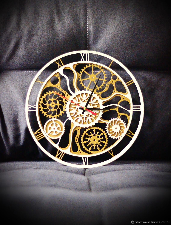 """Настенные часы """"Механика времени"""", Watch, Krasnoyarsk,  Фото №1"""