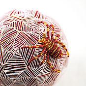 """Сувениры и подарки ручной работы. Ярмарка Мастеров - ручная работа Шар темари """"Творец"""". Handmade."""