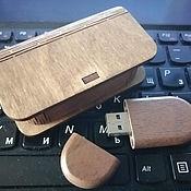 Сувениры и подарки handmade. Livemaster - original item Gift box for USB flash drive with engraving, souvenir. Handmade.