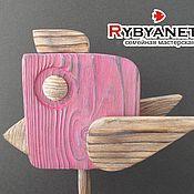 """Для дома и интерьера ручной работы. Ярмарка Мастеров - ручная работа """"Птица счастья"""" деревянная скульптура. Handmade."""