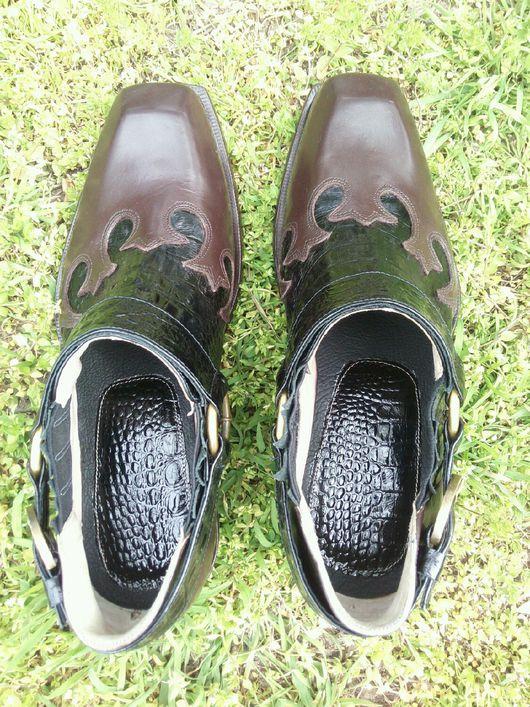 Обувь ручной работы. Ярмарка Мастеров - ручная работа. Купить Туфли мужские. Handmade. Туфли мужские, туфли кожаные