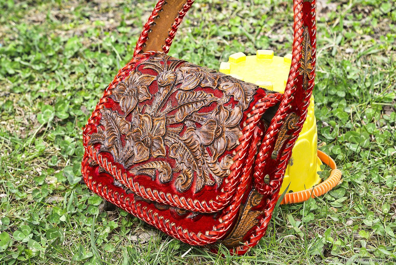 Women's leather bag 'Absolute' - color, Classic Bag, Krasnodar,  Фото №1