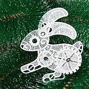 Подарки к праздникам handmade. Livemaster - original item Steampunk rabbit.. Handmade.