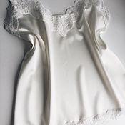 Одежда ручной работы. Ярмарка Мастеров - ручная работа Топ в бельевом стиле. Handmade.