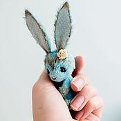 Куклы и игрушки ручной работы. Ярмарка Мастеров - ручная работа Зайка Бирюза. Handmade.