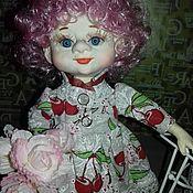 Куклы и пупсы ручной работы. Ярмарка Мастеров - ручная работа Куклы и пупсы: Гномик девочка. Handmade.