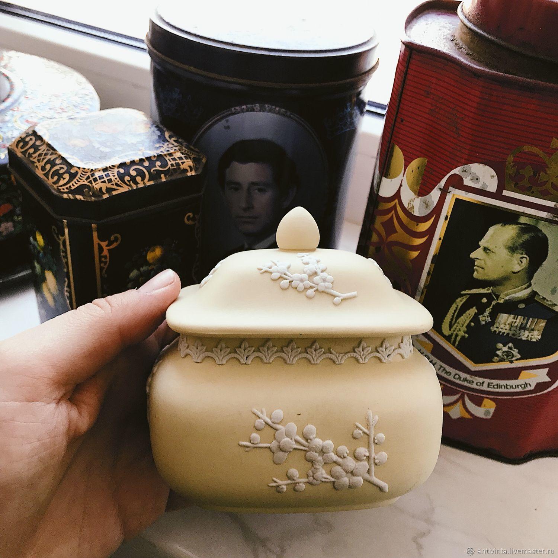 Rare box Wedgwood primrose England, Vintage interior, Moscow,  Фото №1