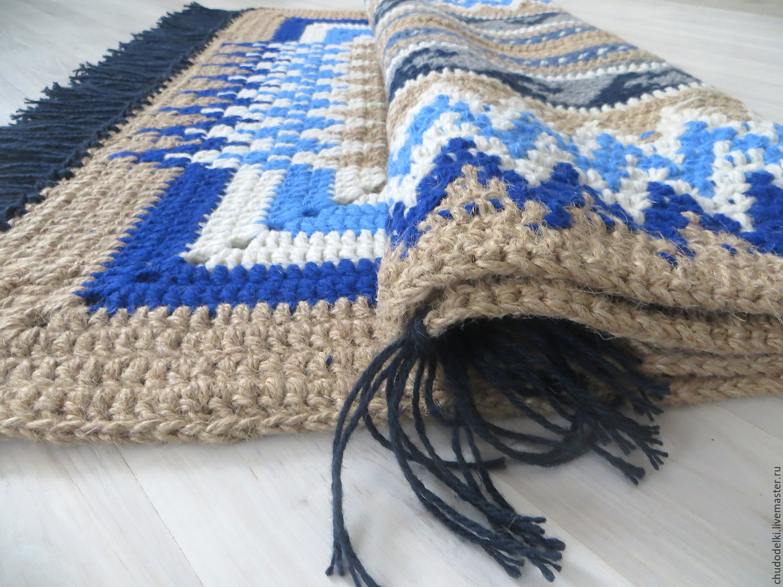 Вязание салфетки и узоры