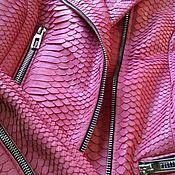 Одежда ручной работы. Ярмарка Мастеров - ручная работа Куртка из кожи питона(косуха). Handmade.