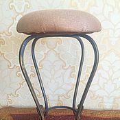 Для дома и интерьера handmade. Livemaster - original item Wrought iron stool