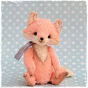 Куклы и игрушки ручной работы. Ярмарка Мастеров - ручная работа Тедди Лиса. Handmade.