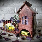 """Для дома и интерьера ручной работы. Ярмарка Мастеров - ручная работа Чайный домик  """"Уютный"""" (№5). Handmade."""