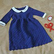 """Платье ручной работы. Ярмарка Мастеров - ручная работа платье для девочки 7-8 лет """"Джорджиана"""". Handmade."""