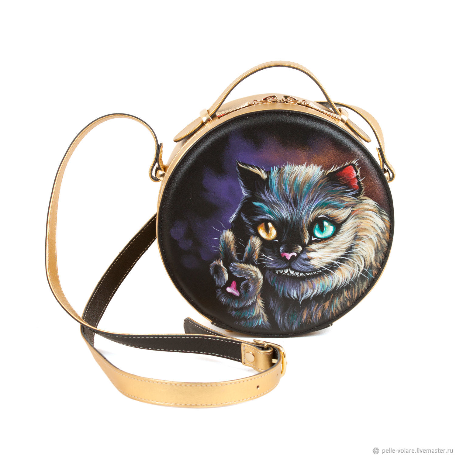 bag. Form a circle ' Welcome Cheshire', Classic Bag, St. Petersburg,  Фото №1