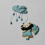 Украшения ручной работы. Ярмарка Мастеров - ручная работа Под дождем. Handmade.