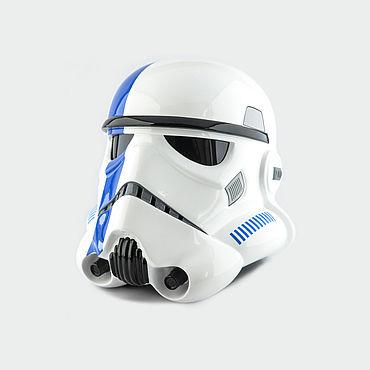 Дизайн и реклама ручной работы. Ярмарка Мастеров - ручная работа Шлем Имперского Штурмовика Commander StarWars. Handmade.