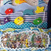 Куклы и игрушки handmade. Livemaster - original item Sea - razvivaya-game story!. Handmade.