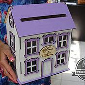 Свадебный салон ручной работы. Ярмарка Мастеров - ручная работа Свадебный домик казна маленький. Handmade.