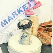 Куклы и игрушки ручной работы. Ярмарка Мастеров - ручная работа ONLY KINGS pug 369. Handmade.