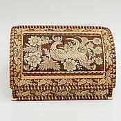 Для дома и интерьера handmade. Livemaster - original item Bread box made of birch bark