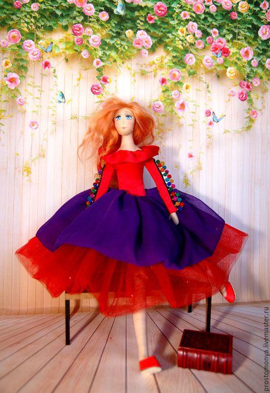 Коллекционные куклы ручной работы. Ярмарка Мастеров - ручная работа. Купить Кукла Маруся (линия игровых кукол). Handmade. Комбинированный