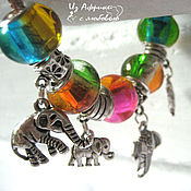 Украшения handmade. Livemaster - original item Bracelet style Pandora