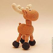 Куклы и игрушки ручной работы. Ярмарка Мастеров - ручная работа Лось сохатый. Handmade.