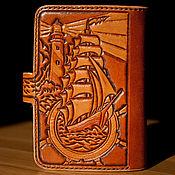 Сумки и аксессуары handmade. Livemaster - original item wallet for men embossed. Handmade.