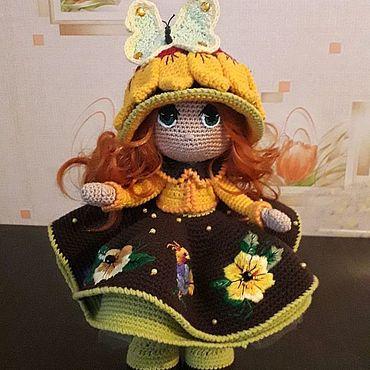 Для дома и интерьера ручной работы. Ярмарка Мастеров - ручная работа Куколка интерьерная. Handmade.