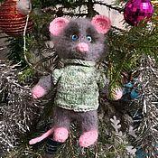 Куклы и пупсы ручной работы. Ярмарка Мастеров - ручная работа Куклы и пупсы: мышонок вязанный. Handmade.