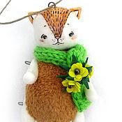 Куклы и игрушки ручной работы. Ярмарка Мастеров - ручная работа Маленький рыжий кот. Handmade.