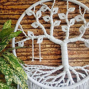 Для дома и интерьера ручной работы. Ярмарка Мастеров - ручная работа Весеннее дерево. Handmade.