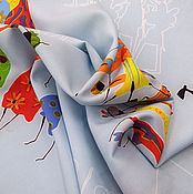Материалы для творчества ручной работы. Ярмарка Мастеров - ручная работа - 25 % от цены! Ткань плательная вискоза со спандексом. Handmade.