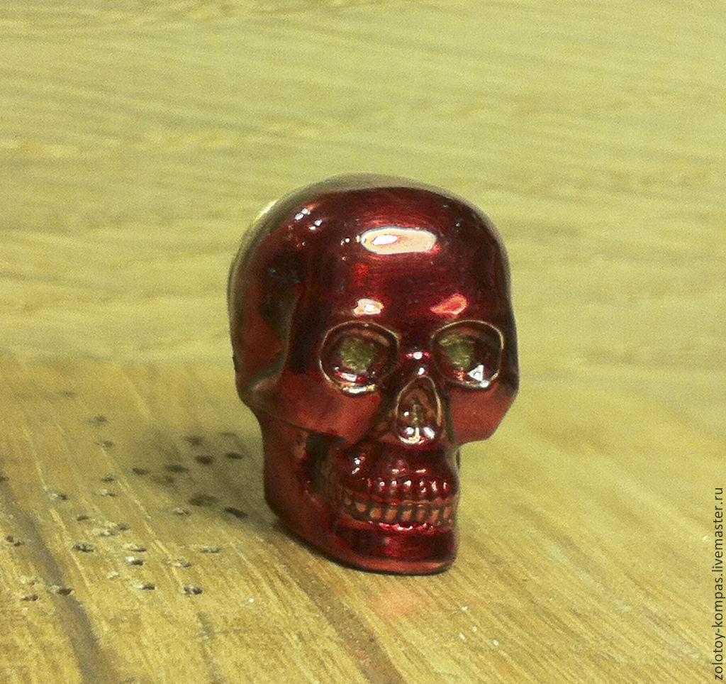 Значок Красный череп, Комплекты украшений, Киев,  Фото №1
