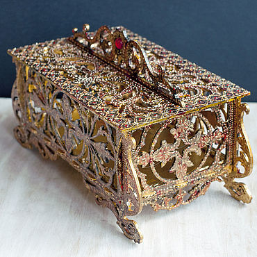 Для дома и интерьера ручной работы. Ярмарка Мастеров - ручная работа Ажурная шкатулка. Handmade.