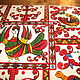 Tray 'the Sirin Bird and the other birds'. Ware in the Russian style. Russian Folk Painting. My Livemaster. Фото №4